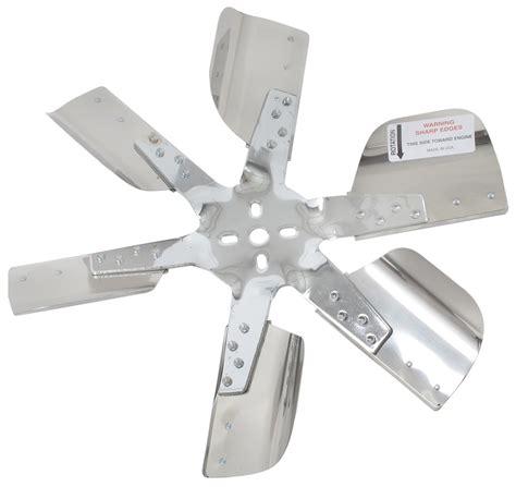 how to reverse a radiator fan derale 17 quot stainless steel flex fan chrome belt driven