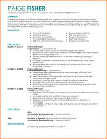 Financial Analyst Resume Sles by Analyst Budget Resume