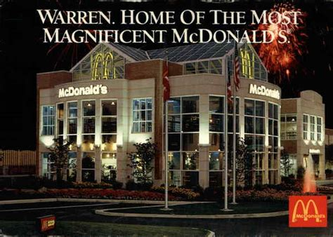 E Gift Card Mcdonalds - the most magnificent mcdonald s in america warren oh
