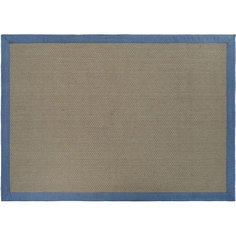 Essential Home Jute Border Rug 5 X 7 Jute Rug 7
