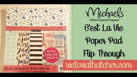 Posh And Becks To Buy Madges La Pad by C Est La Vie Buy Paper Pad Flip Through