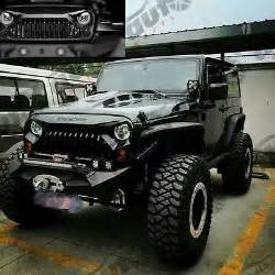 Jeep Jk Angry Grill New Angry Bird 2 Rubicon Front Bumper Grille For