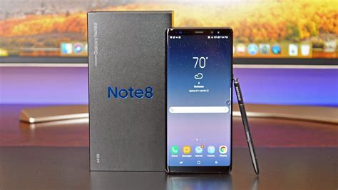samsung galaxy note 8 unboxing review