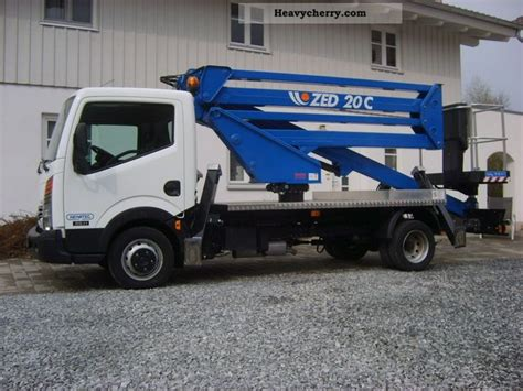nissan work truck nissan platform cte zed 20c 2011 hydraulic work platform