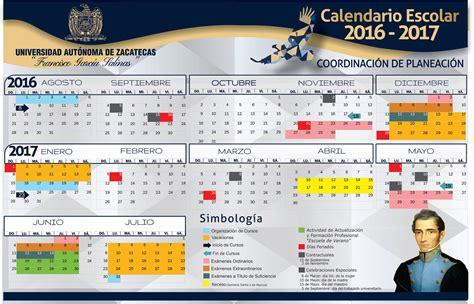 Calend Escolar 2018 Ua Calendario Uaz Uaz Edu Mx