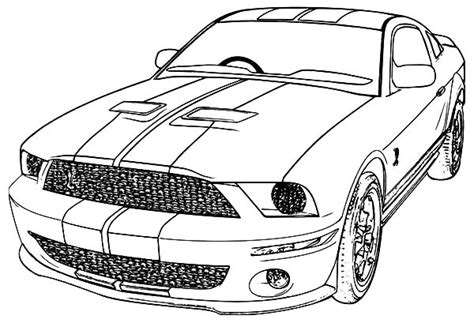 coloring pictures mustang cars printable mustang coloring pages coloring me
