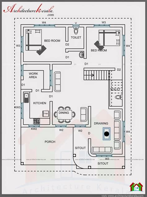 luxury plan for 4 bedroom house in kerala new home plans
