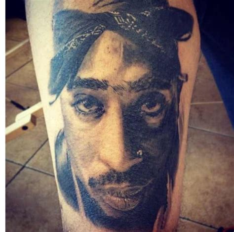 five and dime tattoo amazing tupac portrait done by frank at five