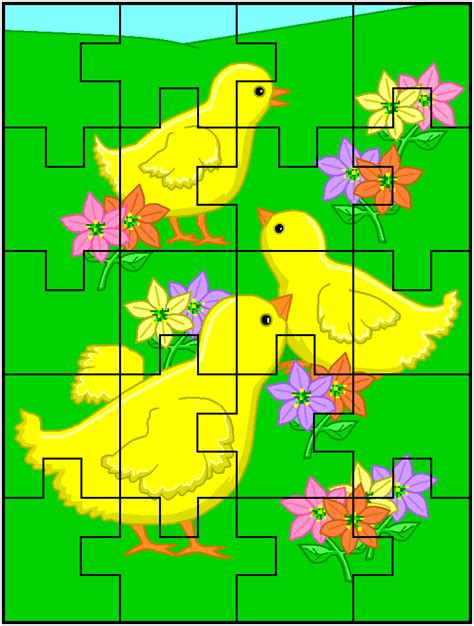 printable easter jigsaw puzzles free printable easter jigsaw puzzles holidays at kid scraps