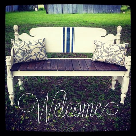 bench from headboard and footboard bench made from headboard and footboard southern charm