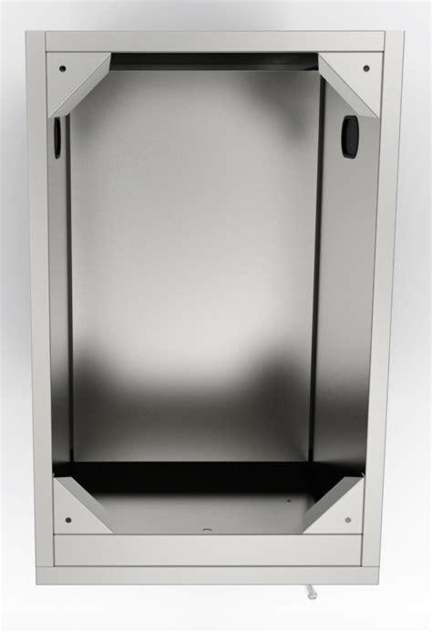 full swing door sunstone 18 quot full height right swing door cabinet with