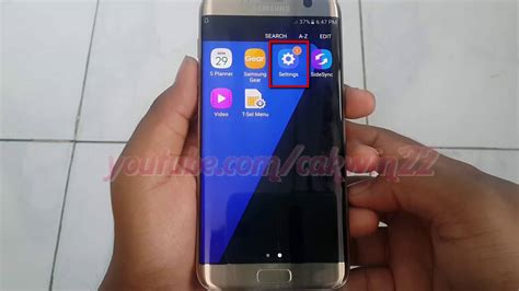 edge lighting not working samsung galaxy s7 edge how to enable or disable edge