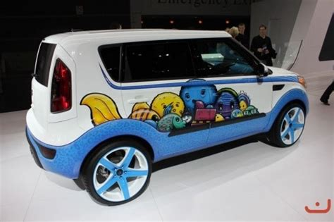 Kia Soul Paint Custom Kia Soul Paint Cool Cars