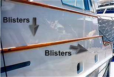 boat pox pictures blisters on your boat boatsafe