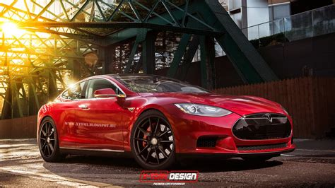 tesla model s coupe rendering by x tomi autoevolution