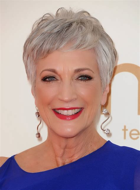 gray hair styles for at 50 door kapsels van beroemdheden en haarmode celebrity