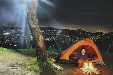 indahnya malam  gunung putri lembang viapendaki
