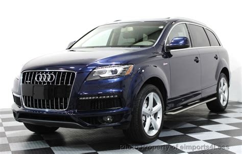 2014 audi q7 pricing ratings reviews kelley blue book 2014 used audi q7 certified q7 3 0t s line prestige quattro awd suv nav at eimports4less serving