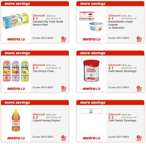 printable grocery coupons alberta metro quebec printable store coupons march 5 to 11