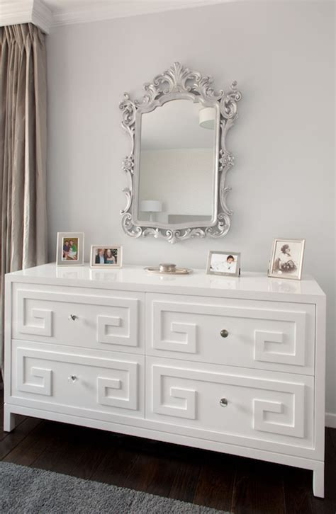 beautiful bedroom dressers greek key dresser transitional bedroom artistic
