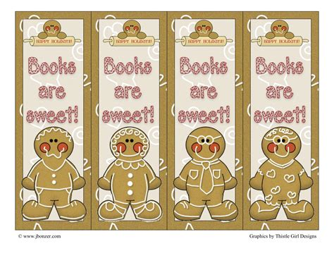 printable gingerbread bookmarks search results for present printables page 2 calendar 2015