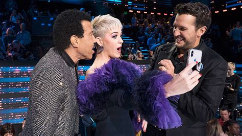 luke bryan katy perry lionel richie lionel richie compares time with katy perry to raising
