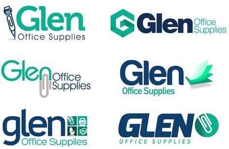 logo design for glen office supplies thinkpad creative