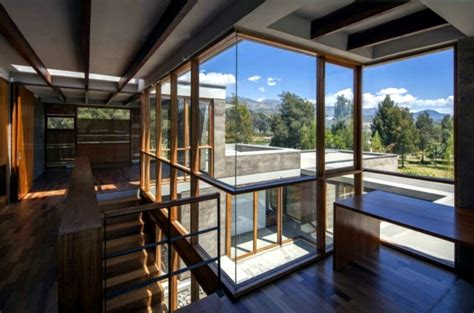 home design inside and outside mountain house blurs the line between inside and outside