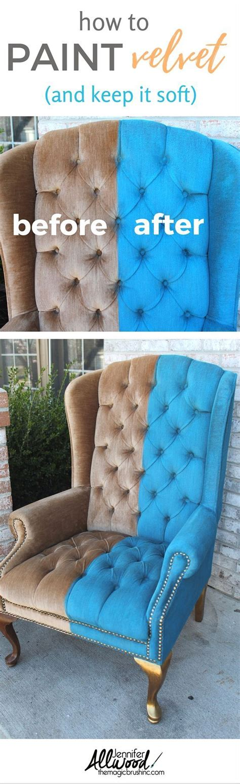 chalk paint velvet chair 329 best images about diy upholstery upholster on