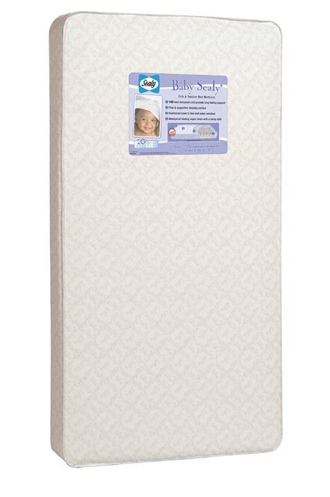 Sealy Posturepedic Baby Crib Mattress Sealy 150 Coil Count Crib Mattress