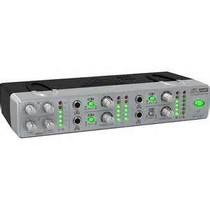 Small 4 Channel Home Lifier Behringer 800 Mini Ultra Compact 4 Channel Stereo