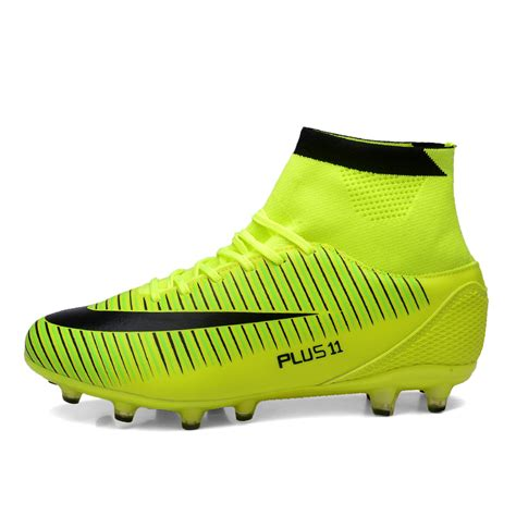 football shoes with socks mens outdoor football shoes high ankle soccer boots with