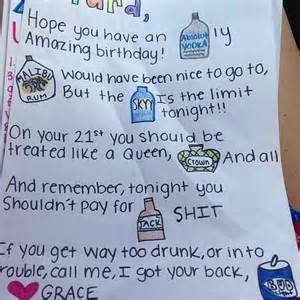 what to say in a 21st birthday card 21st birthday card idea so adorable diy stuff