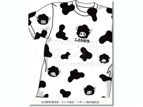 cow pattern t shirt lambo cow pattern t shirt m white by cospa hobbylink japan