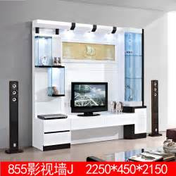 3 m white living room furniture chinese lcd tv cabinet 855