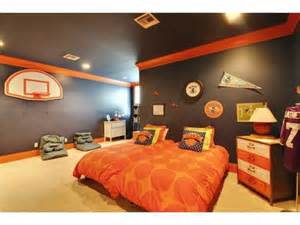 Basketball Room Decor Carpet Crown Molding Contemporary Basket Boy S For The Home
