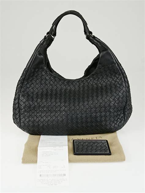 Bottega Veneta Vachette Medium Pouch Black bottega veneta black intrecciato woven nappa leather