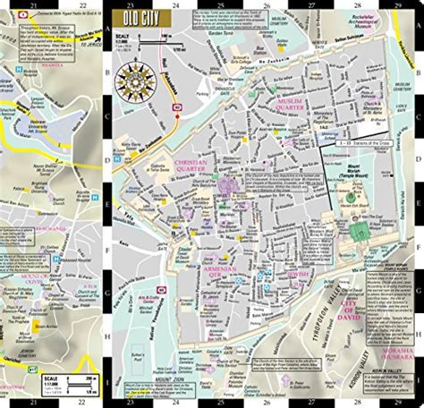 streetwise chicago map laminated city center map of chicago illinois michelin streetwise maps books streetwise jerusalem map laminated city center