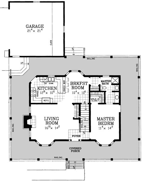 American House Plans With Photos by American Classic House Plan 81418w 1st Floor Master