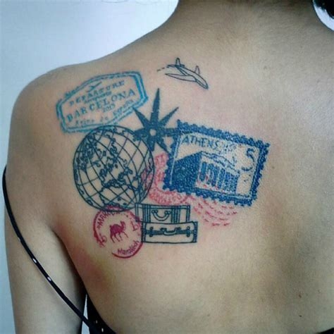 hostel tattoo 46 wanderlust tattoos for anyone obsessed with travel