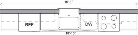 Kitchen Layouts With Island Kitchen Floor Plans Sample Kitchen Layouts