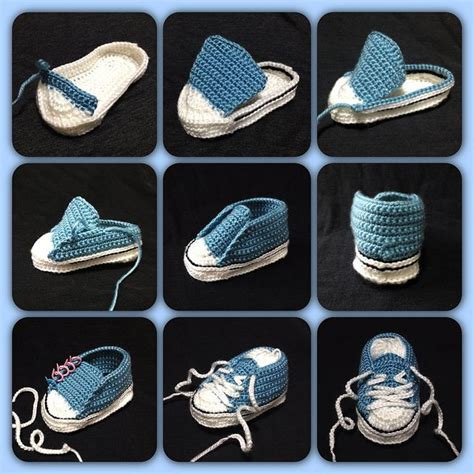 converse crochet sneakers ravelry crochet baby converse pattern by suzanne resaul