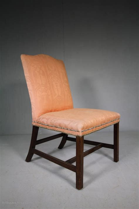 Upholstery Stretcher Georgian Antique Upholstered Side Chair Antiques Atlas