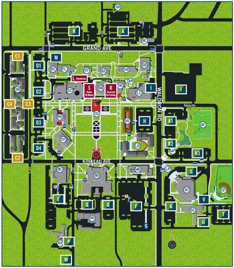 uark cus map uark parking map my