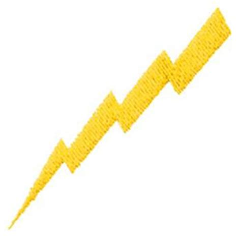 embroidery design lightning bolt text and shapes dakota collectibles embroidery design