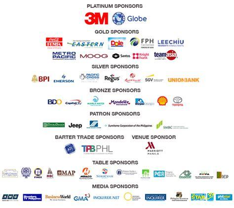 Companies That Sponsor Harvard Mba by Sponsorship The Arangkada Philippines Forum 2017