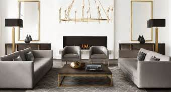 new brass furniture and decor from rh modern - Rh Furniture