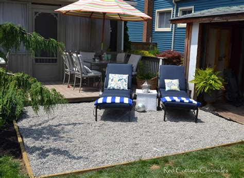 How To Make A Pea Gravel Patio by Hometalk Pea Gravel Patio