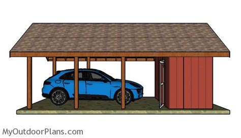 carport plans with storage carport with storage plans myoutdoorplans free