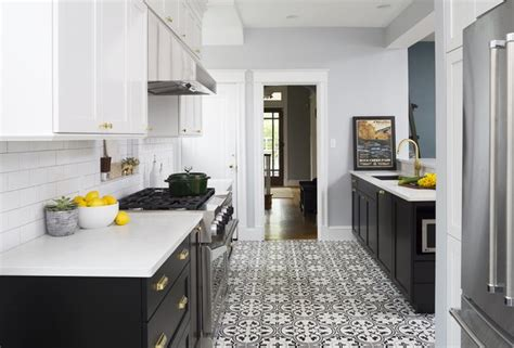 kitchen renovations using gray and white before after two masterful kitchen renovations by design dwell